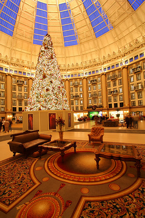 Christmas at the West Baden Hotel