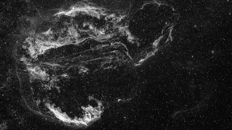 Veil Complex in Cygnus - Hydrogen Alpha