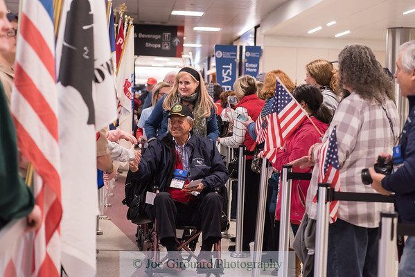 Honor Flight New England Nov 3, 2019 Send Off