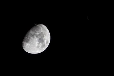 Appulse of Jupiter 2013