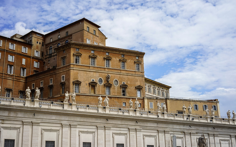 Papal Residence - St. Peter's Square