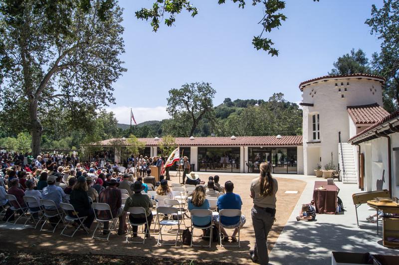 20120609007-King Gillette Santa Monica Mountain Visitor Center Opening.jpg