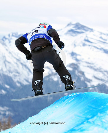 Swiss snowboard world cup 2010
