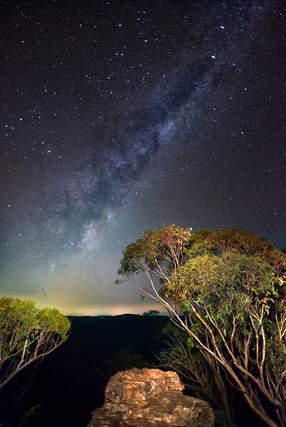 Milky Way over Medlow Bath (1)