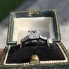 2.03ct Emerald Cut Diamond Ring, GIA K IF 4