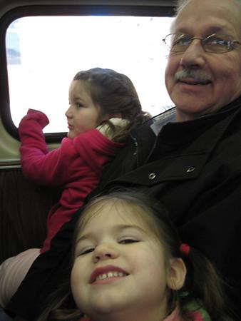Disney on Ice with Grandma and Grandpa
