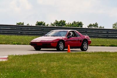 2020 SCCA TNiA June Pitt Race Red Fiero
