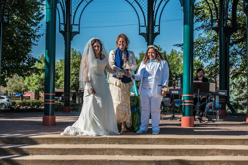 Joselyn and Rashonda Ceremony