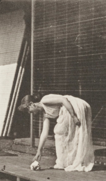 Woman performing various movements