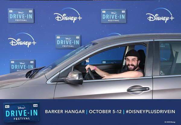 Disney+ Drive-In Festival 10/08