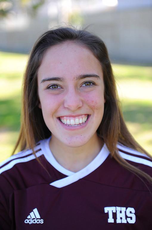 . Brianna Brown #31 Torrance High School soccer 2/13