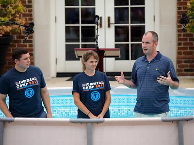 Student Baptism Service 2015