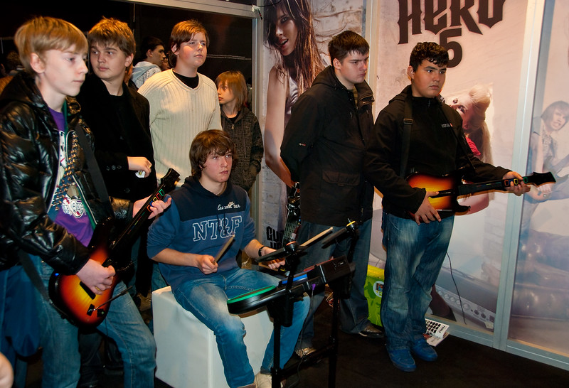 Guitar Hero 5 at Igromir 2009