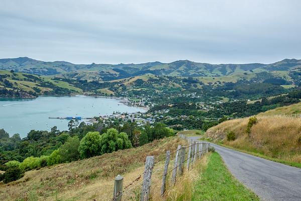 Akaroa and Dunedin, NZ