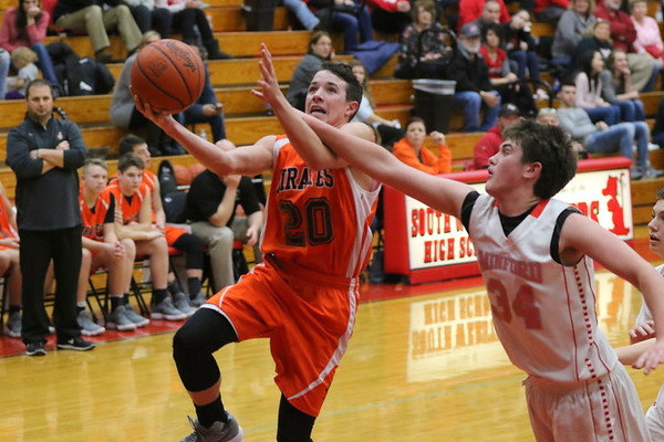19aJH Junior High Boys:  Wheelersburg 8th vs. Minford 8th 2018