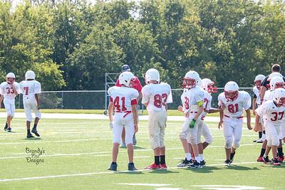 SHMS Football @ Seaman 8-31-17