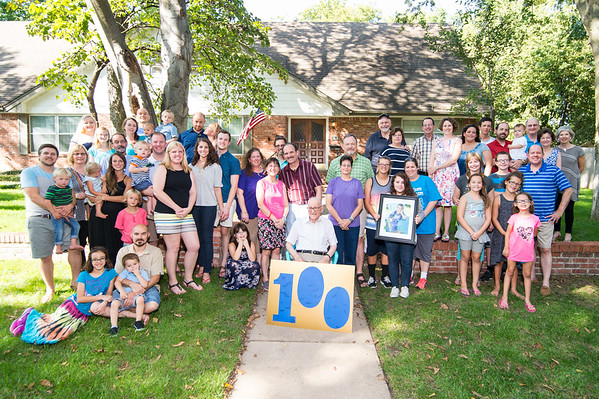 Lou's 100th Birthday