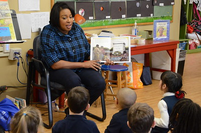Lunch with the Mayor:  Allendale Columbia School - 1/12/2015