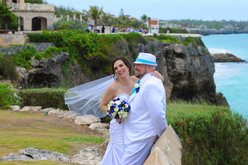 Wedding at the Crane photographed in Barbados