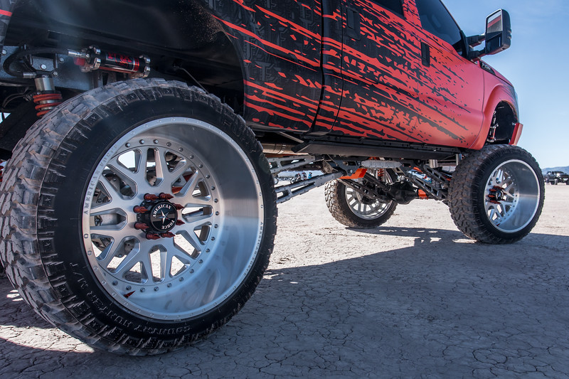 @Truck_Fever 2014 @Ford F250 featuring our 28x16 #CRUX from our Multi-Piece Series wrapped in 42x15.5r28 @FuryOffroadTires-20.jpg