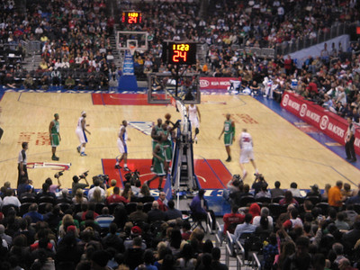 Boston Celtics vs Los Angeles Clippers 12-27-2009