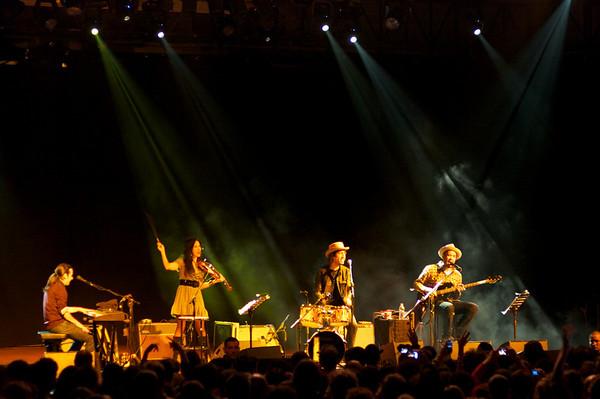 Concerto Fistful Of Mercy - Milano 9 dicembre 2010