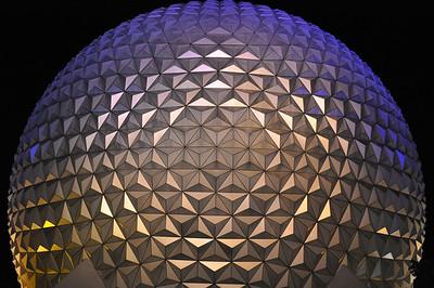 Walt Disney World at night - FL - 103108 - 110408