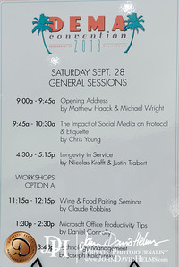 2013 09 28 DEMA Saturday Morning Sessions