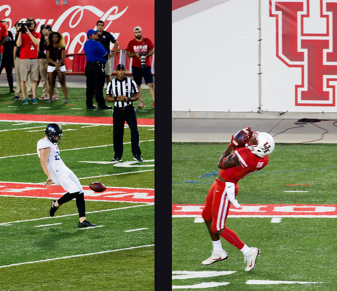 Tulsa has to punt.  Fair catch by UH.