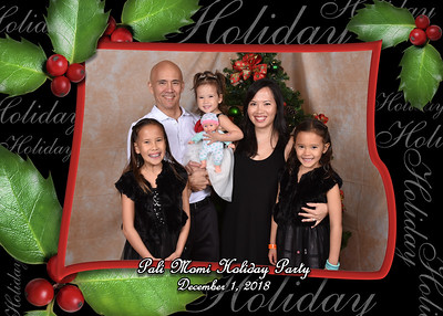 Pali Momi Holiday Party 12-1-18