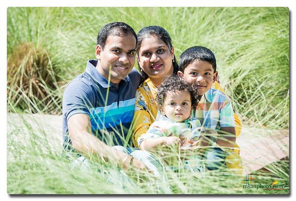Divya's Family Portrait Session