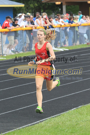 UP Boys and Girls 1600M - 2013 MHSAA UP Track Finals