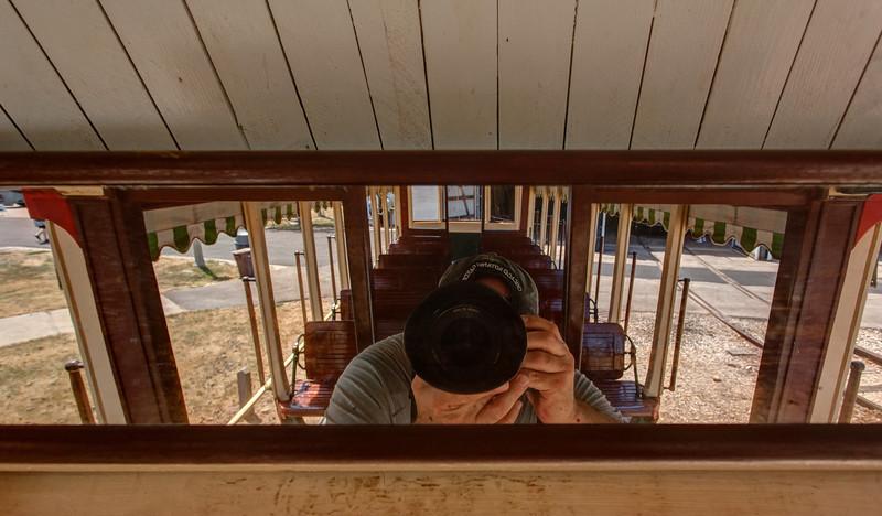 Trolley Car Selfie