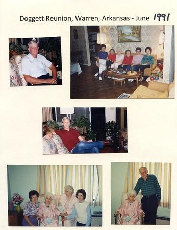 1991 Doggett Family Reunion