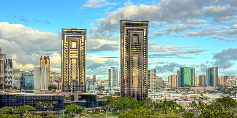 Oahu Buildings HDR