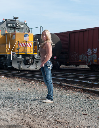 Katelyn Fitness RailYard Shoot 2013