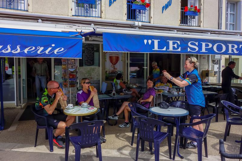 From Saulieu to Ste Sabine