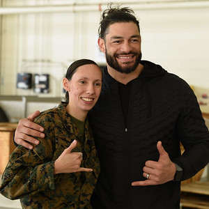 Roman Reigns - Visit to the Troops / part 2