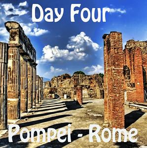 Day 04 - Pompei-Rome