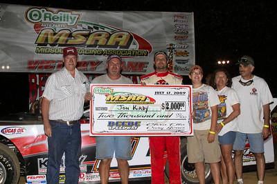 Beebe Speedway - 7-17-09