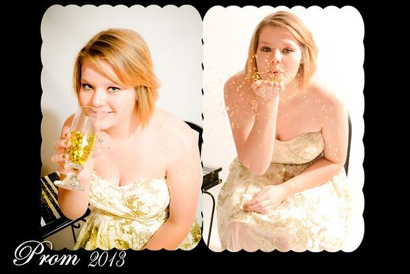 Syndie and Janeesa Bushland Prom 2013