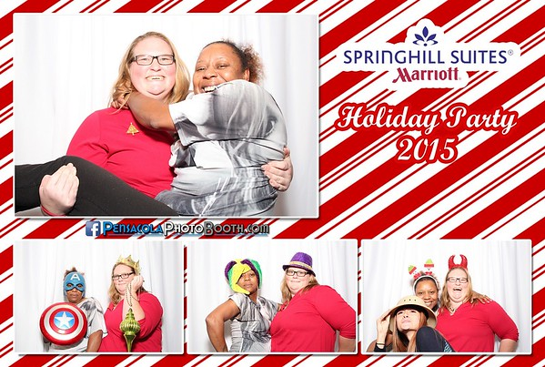 Springhill Suites Christmas Party 12-18-2015
