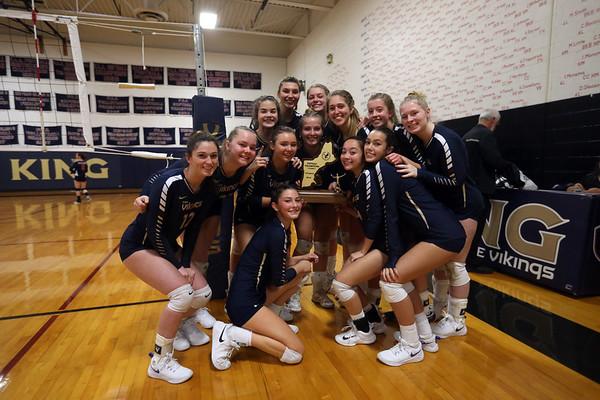 Varsity Volleyball NEPSAC Finals Nov. 2018