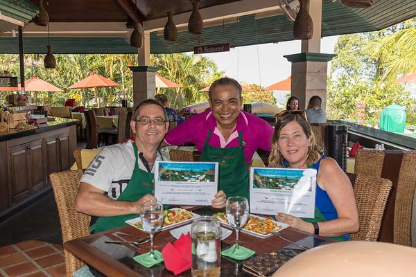 Thai Cooking Class at Mangosteen Restaurant