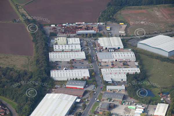 Blenheim industrial estate Bulwell
