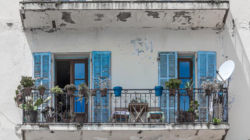 Balcon méditéranééen - Mediterranean balcony (Calvi - Balagne - Haute Corse)