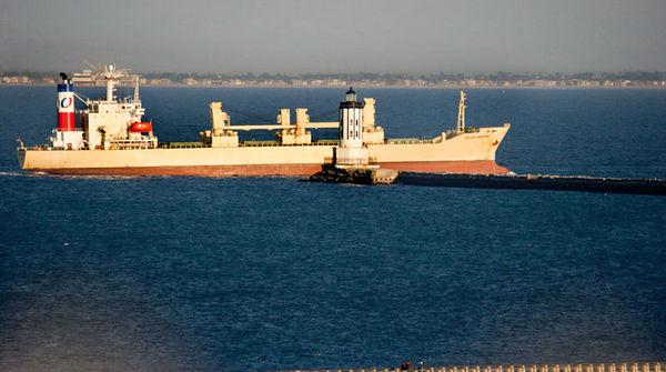 Ship at 417mm