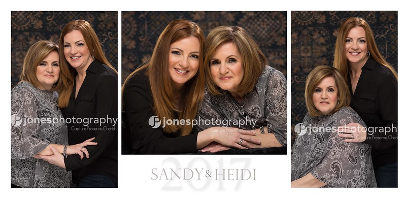Sandy and Heidi