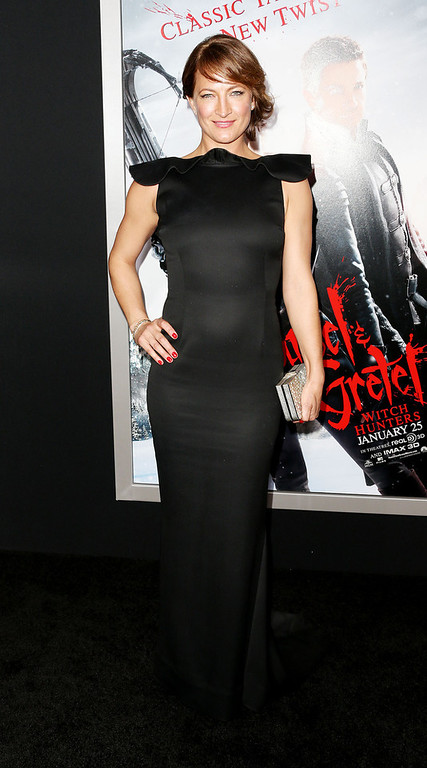 """. Actress Zoe Bell attends the Premiere of Paramount Pictures\' \""""Hansel And Gretel Witch Hunters\"""" at the TCL Chinese Theatre on January 24, 2013 in Hollywood, California.  (Photo by Frederick M. Brown/Getty Images)"""