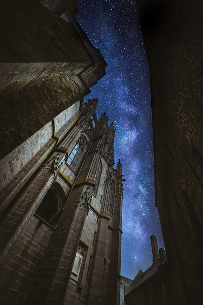 Beyond Mont Saint Michel